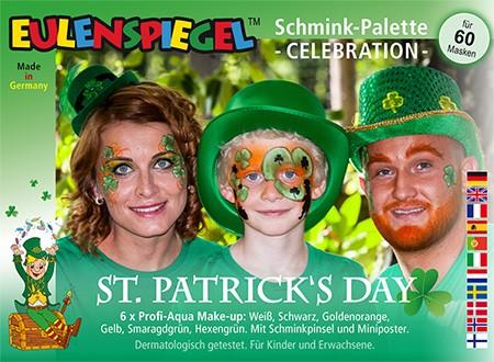 St. Patrick's Day Schmink-Palette Celebration