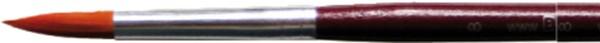 Runder Universal-Pinsel, Gr. 8, rot