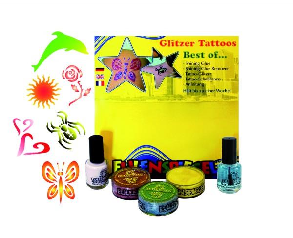 Glitzer Tattoo-Set - Best of (XL)