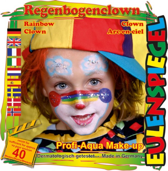 Motiv-Set Regenbogenclown