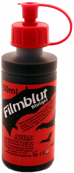 Filmblut / Blutgel, dunkel, 50ml
