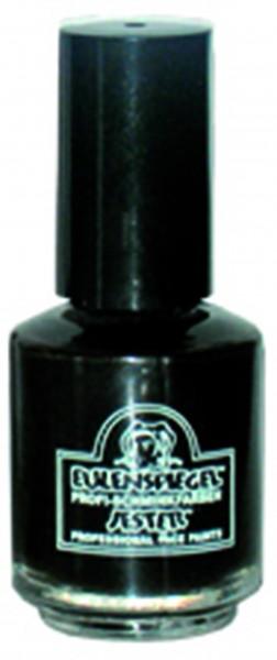 Zahnlack, schwarz, in Pinselflasche