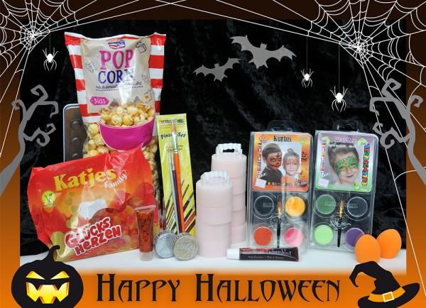 Halloween Set Kürbis & Waldfee