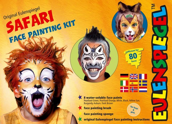 Safari Face Painting Kit