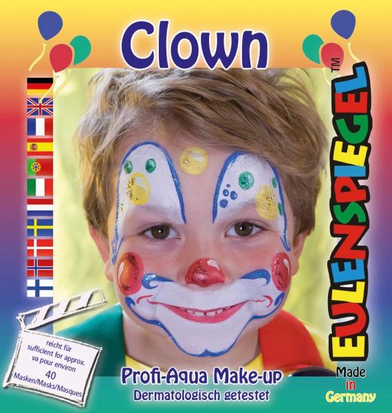 Motiv-Set Clown