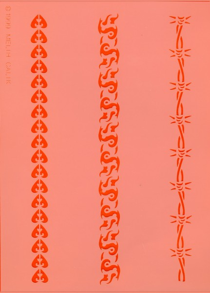 Tattoo Schablone - Stripes I