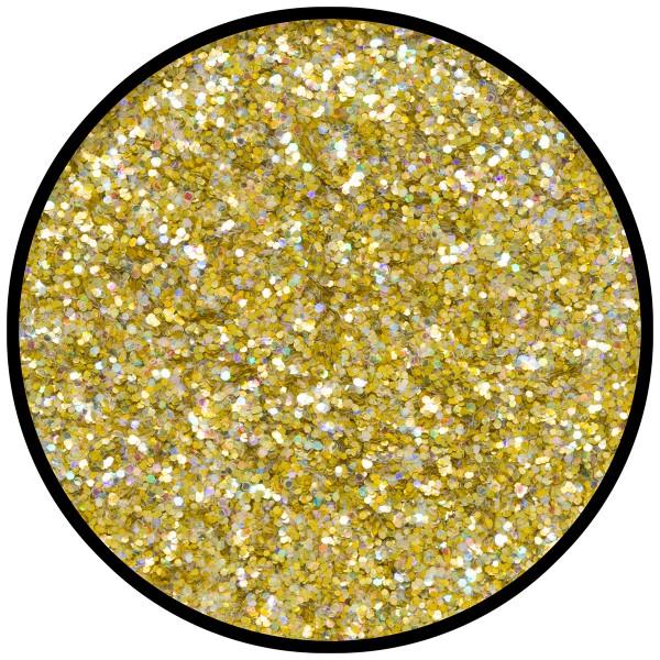 Gold-Juwel (mittel), hologr. 2g Glitzer